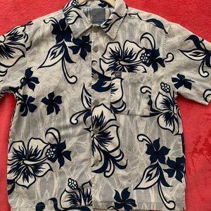 Boys (8/10) Quiksilver Hawaiian Shirt